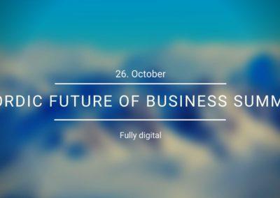Nordic Future of Business Summit (26.10.2020)
